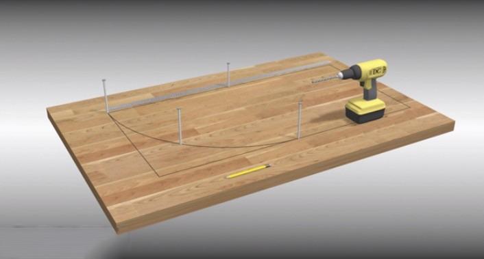 خم کردن چوب | خم چوب | کار با چوب